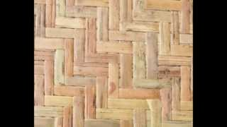 Exterior Bamboo Panels Waterproof Wall Covering Tropical Décor Outdoor- Can Be Re-used Many Times