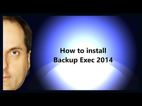 How To Install Backup Exec 2014