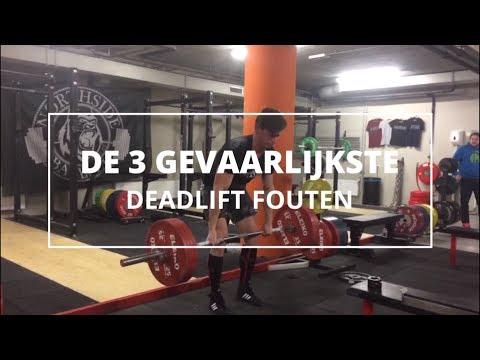 3 gevaarlijke deadliftfouten die je niet moet maken FIT.nl