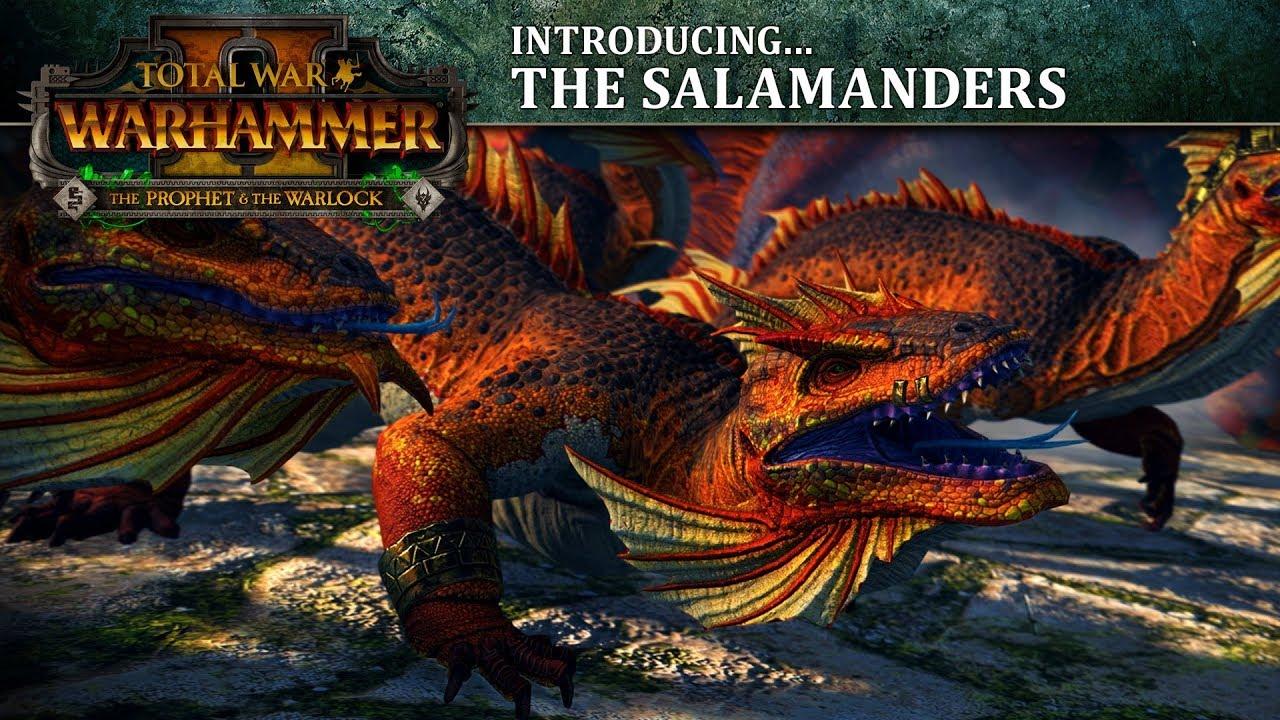 Bog Salamander Fantasy Art