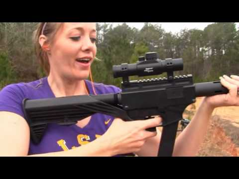 Legal Machine Gun!!! 800 Rounds Per Minute!!! (Thureon Defence With Slide Fire Stock)