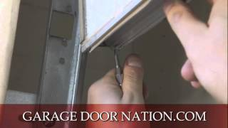 Diy Garage Door Weather Stripping Seal - Tutorial