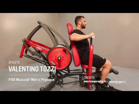 1HP541 – Declined Chest Press
