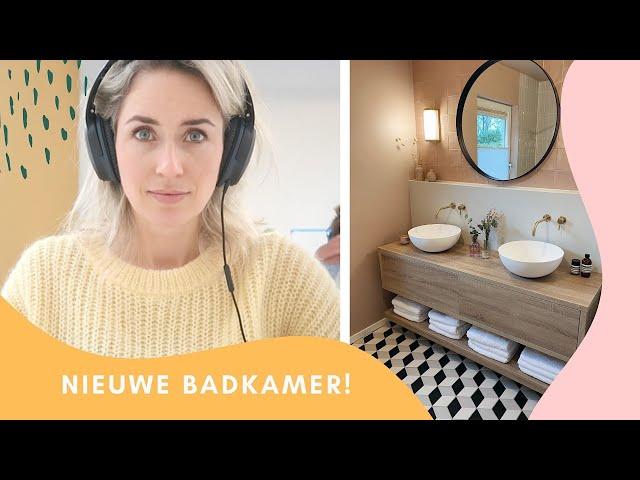 Tv commercial opnemen + nieuwe badkamer is af | Sanny zoekt Geluk