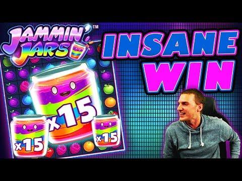 INSANE WIN on Jammin' Jars Slot - £4 Bet