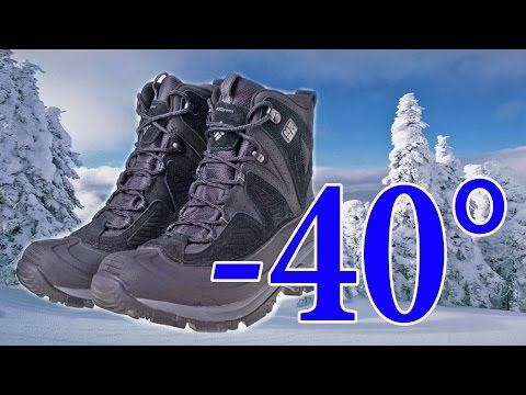 видео: Зимние ботинки columbia snowtrek 400g(winter boots columbia snowtrek 400g)