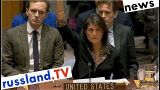 UNO: Krim-Mehrheiten ändern sich