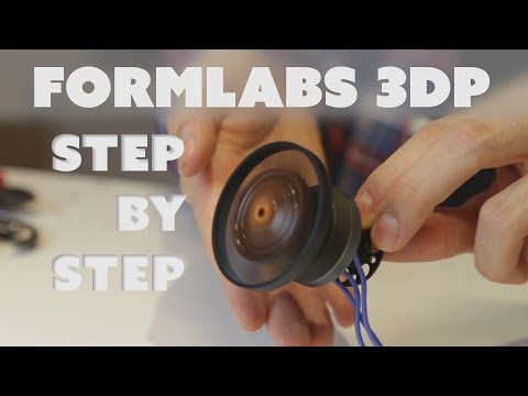 /Guide | Formlabs Form 1+ - Step By Step post-3D-print processing