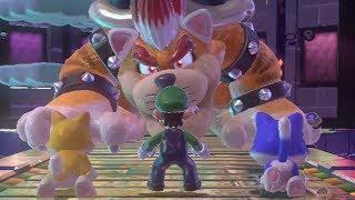 Super Mario 3D World 100% Walkthrough - World 8 (3 Players)