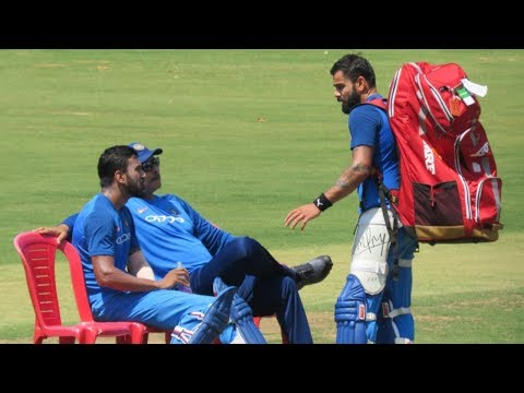 Watch: Indian cricket team's full practice season ahead of do-or-die 2nd T20I