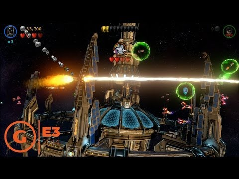 Lego Batman 3: Beyond Gotham Batwing Gameplay - E3 2014 ...