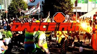 Dance Run in San Francisco w/ Spandy Andy - Bay to Breakers