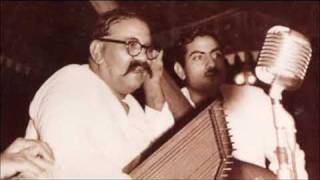 ustad bade ghulam ali khan bhairavi thumari