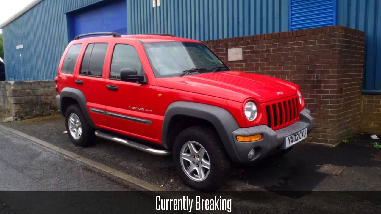 2002 Jeep Cherokee Sport 2.5CRD Manual - Breaking for ...