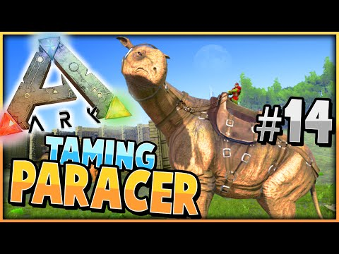 ARK: Survival Evolved | TAMING HIGH LEVEL PARACERATHERIUM | S2 Ep 14 | (Taming A Paracer)
