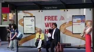 amaysim Wi-Fi bus shelters