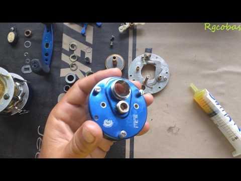 service mantenimiento reel rotativo marine sports caster 200