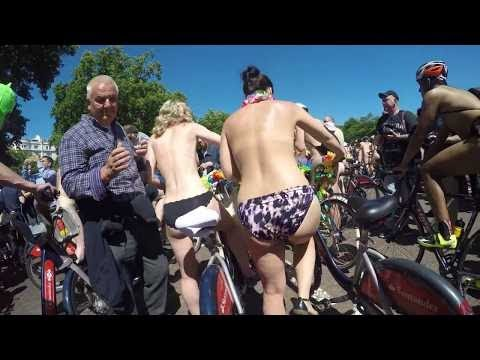 World Naked Bike Ride 2017 l London l bwnbr 2017 l Editin