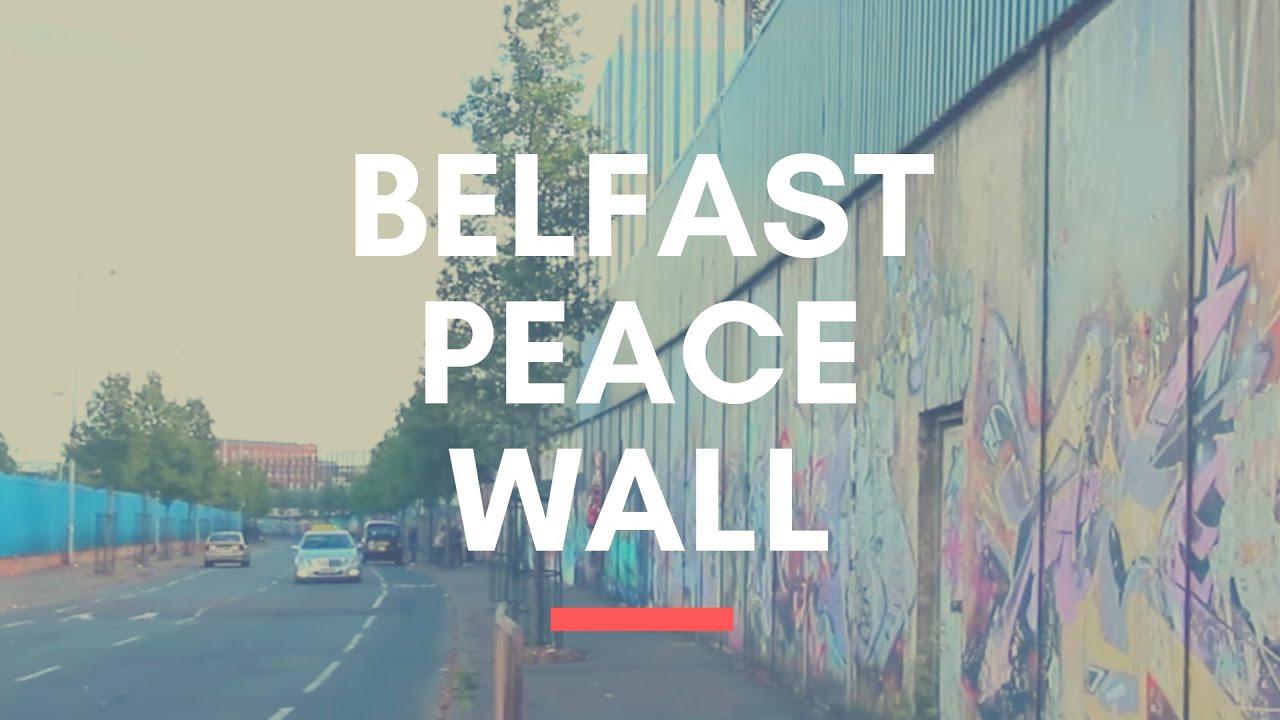 PEACE WALL IN BELFAST - Beautiful Wall Murals in Belfast ...