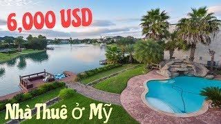 Nhà Thuê $6,000 Ở Texas Có Gì? $6,000 House for Lease