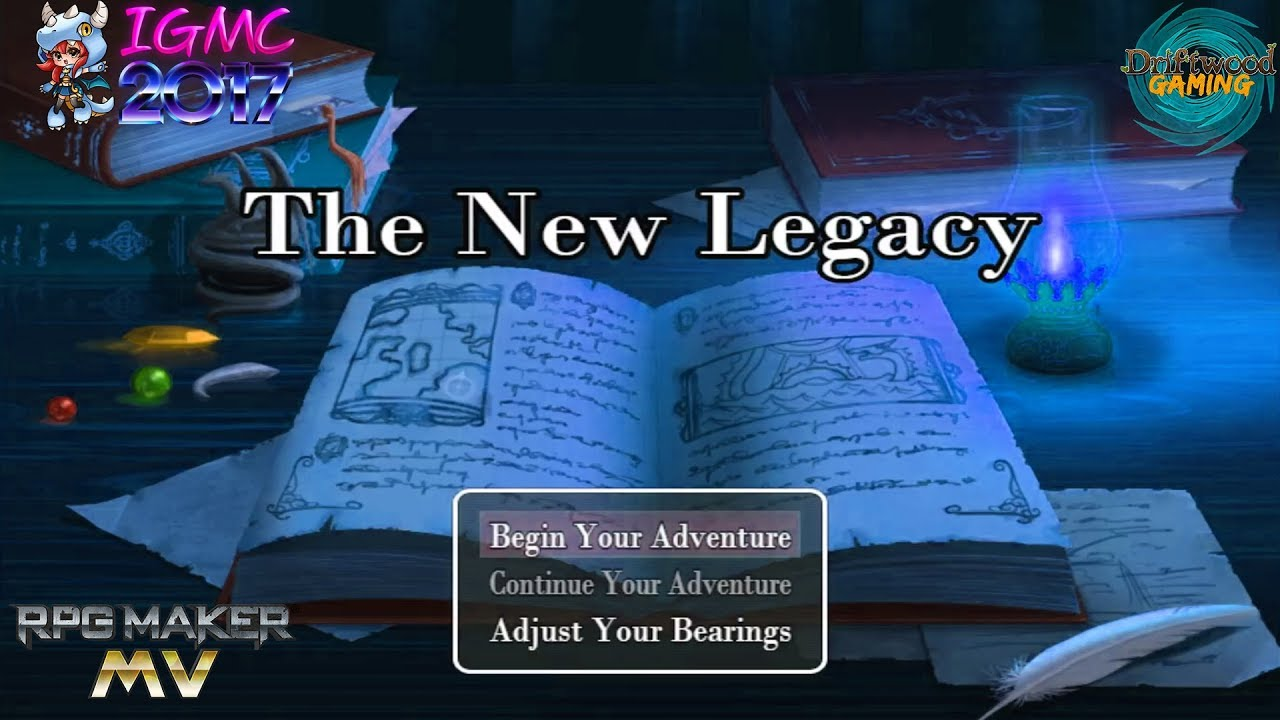 First Impressions MV - The New Legacy - IGMC 2017 - RPG Maker MV