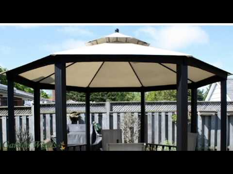 Garden Winds Replacement Canopy For Sears Garden Oasis