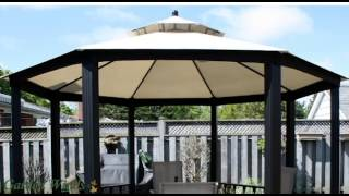 Garden Winds Replacement Canopy For Sears Garden Oasis Octagon Gazebo