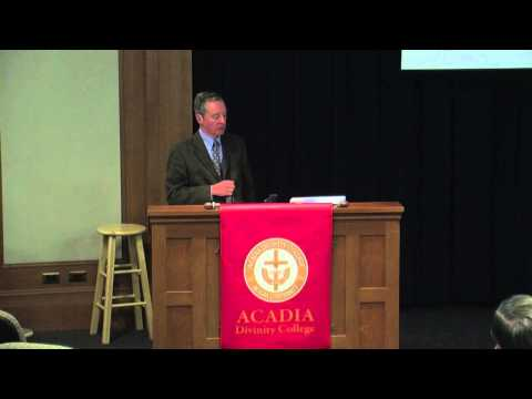 """An English Baptist in the Age of Shakespeare"" by Nick Bunker - Rawlyk Lectures 2013"