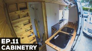 S1E11 Sprinter Van Conversion   Cabinetry