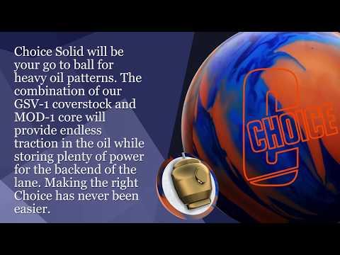 Ebonite Choice Solid Bowling Ball   Final