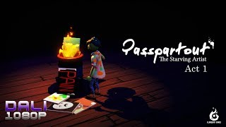 Passpartout: The Starving Artist Act 1 PC Gameplay 1080p 60fps