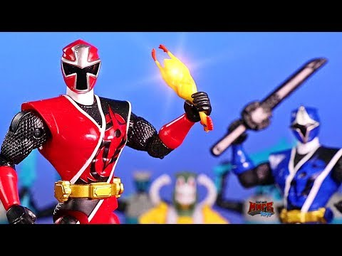 Power Rangers Ninja Steel Chicken Battle Animation!