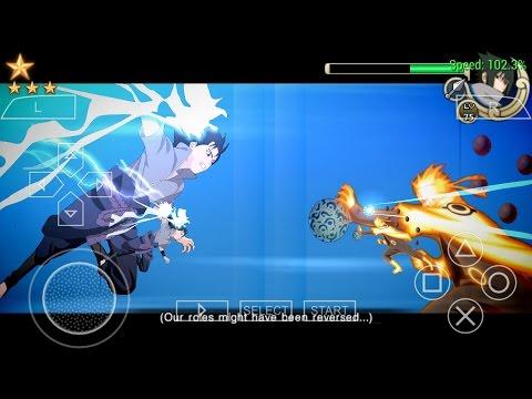 RIKUDOU NARUTO VS SASUKE RINNEGAN FULL FIGHT (NARUTO IMPACT MOD STORM4)
