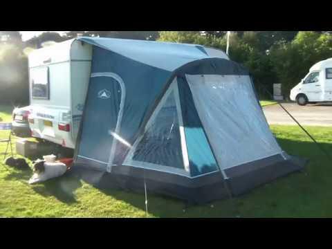 Sunncamp Dash 260 Air Inflatable Caravan Porch Awning Youtube