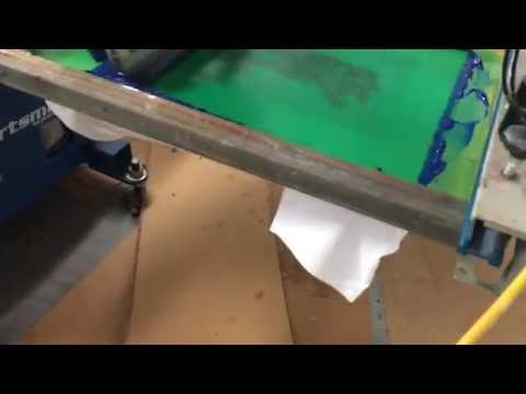 Four Color Process Screen Printing