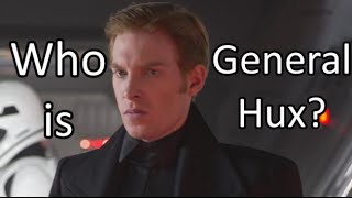 who is general hux tfa character profiles