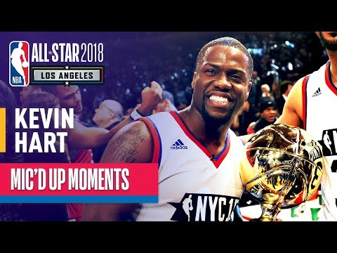 Best of Kevin Hart Mic'd Up | NBA All-Star Celebrity Game