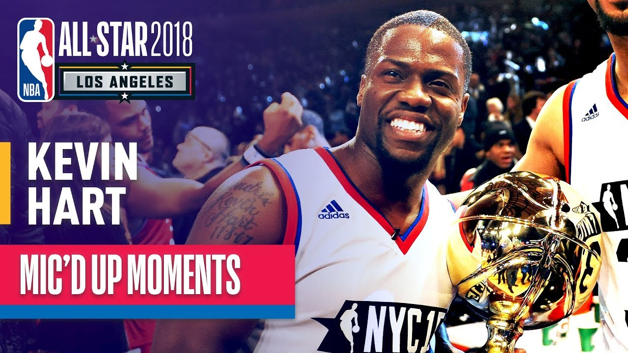 Best of Kevin Hart Mic'd Up | NBA All-Star Celebrity Game ...