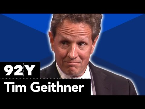 Tim Geithner with Neil Irwin on Stress Test