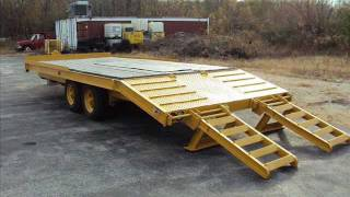 For Sale: Heavy Duty Steel Industrial Equipment Trailer 15'10