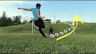 GoPro Hero 6 Black Review [Soccer Challenges with my BRO]