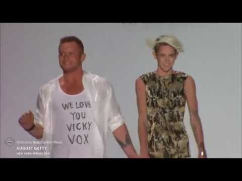 AUGUST GETTY: FINAL WALK AT MBFW S/S15 COLLECTIONS