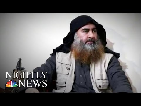 ISIS leader Abu Bakr al-Baghdadi Killed In U.S. raid | NBC Nightly News