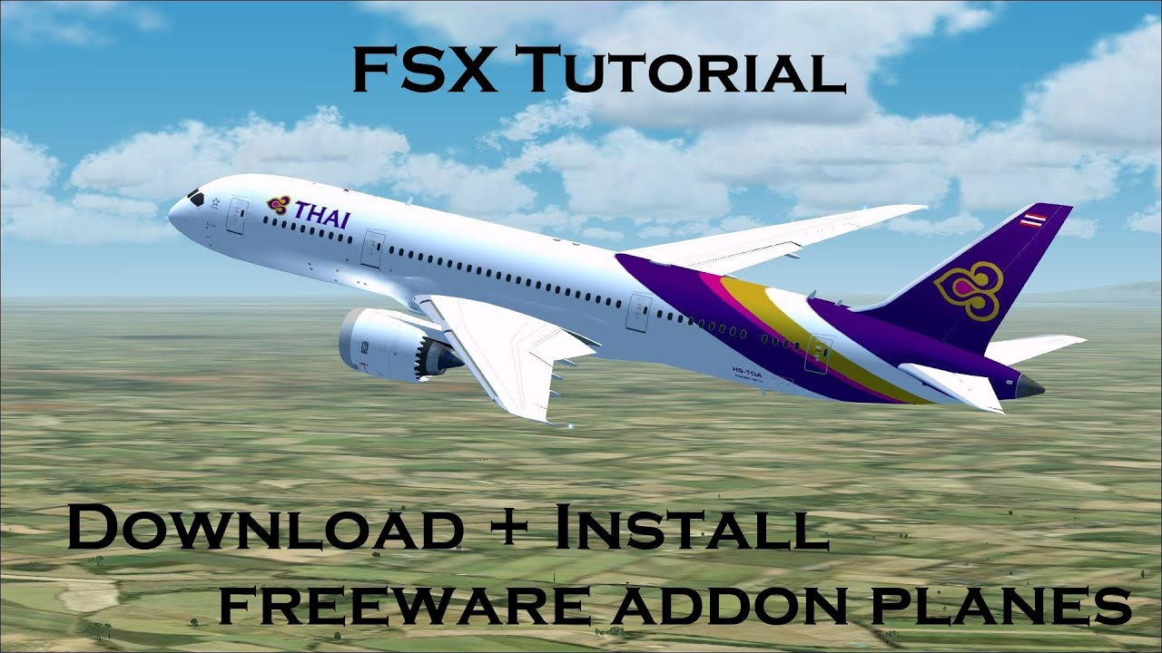 Fsx Planes Where To Download Free Fsx Addon Planes And How To Install