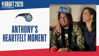 Cole Anthony's Heartfelt Reaction To Being Drafted #15 To Orlando | 2020 #NBADraft