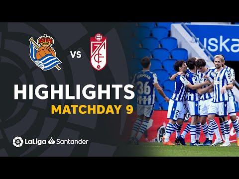 Real Sociedad Granada Goals And Highlights