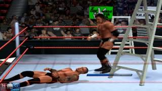WWE Smack Down vs Raw 2011™ PC gameplay: Triple H vs. Randy Orton - TLC match- (via PCSX2 1.1.0)