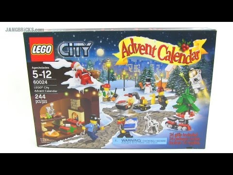 LEGO City 2013 Advent Calendar set review! set 60024 - YouTube