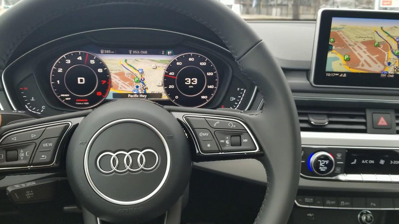 2018 Audi A4 2 0 Quattro 60 Mph 100 Kph