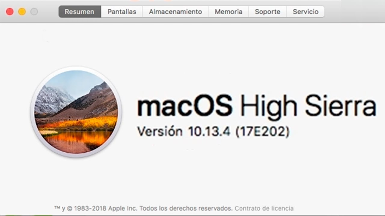 Mac OS X version is not compatible - Nvidia High Sierra (17E202)
